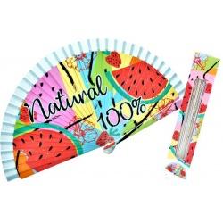 "ABANICOS MADERA ""NATURAL 100%"" (SET 3) REF: 90066"