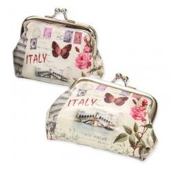 Monedero Italy con hebilla para mujeres o niñas