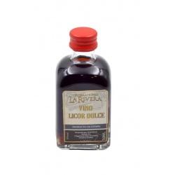 Vino Licor Dulce de la Tierra 50 ML, botella cristal