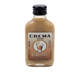 Licor de Crema 100 ML, Petaca Cristal