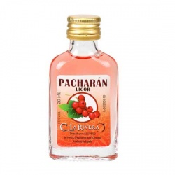 Licor de Pacharán 20 ML, Petaca Cristal