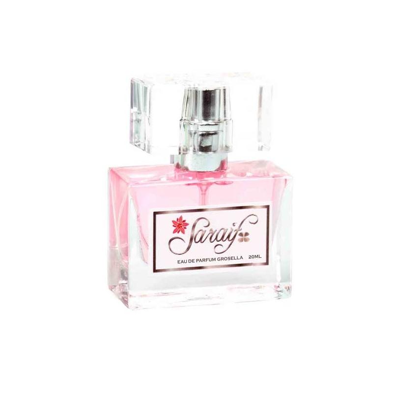 """Frasco de perfume """"Saraif"""", Eau de Parfum de Rosas"""