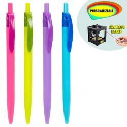 Bolígrafo en colores surtidos, grabable a láser