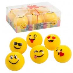 Brillo de labios de emoticonos, caja de 6 unidades