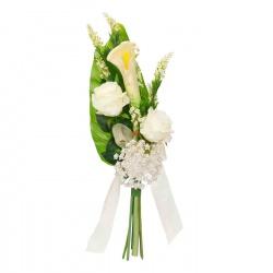 Bouquet floral para alfileres de boda