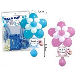 Kit cartel colgador de globos para bebé