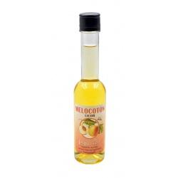 Botellita de licor de Melocotón SIN ALCOHOL 200 ml, modelo Sorgente