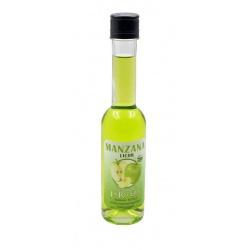 Botellita de licor de Manzana SIN ALCOHOL 200 ml, modelo Sorgente
