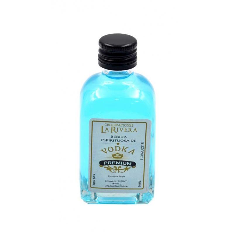 Frasca de Cristal de Vodka Premium 35% Vol, 50 ml
