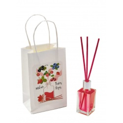 """Pack de ambientador """"Mikado"""" de frutos rojos con bolsa, 15 ml"""