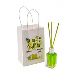 """Pack de ambientador """"Mikado"""" de manzana verde con bolsa, 15 ml"""