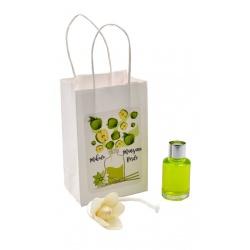 """Pack de ambientador """"Mikado"""" de manzana verde con bolsa, 10 ml"""