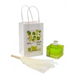 """Pack de ambientador """"Mikado"""" de manzana verde con bolsa, 50 ml"""