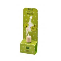 Ambientador para coche con olor a manzana verde, en cristal 8 ml