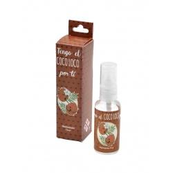 Ambientador con olor a coco, en bote de plástico 30 ml, regalo de boda