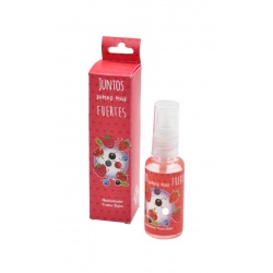 Ambientador con olor a frutos rojos, en bote de plástico 30 ml
