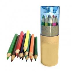 Lapicero con lapices de colores