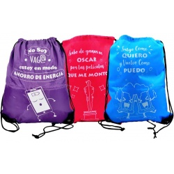 "PACK 6 MOCHILAS ""ENJOY LIFE"" 41X35 REF: 90028"
