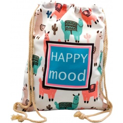 "PACK 6 MOCHILAS ""HAPPY MOOD"" 43X35 REF: 90115"