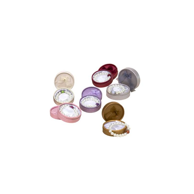 Pulseras de perlas surtidas con caja