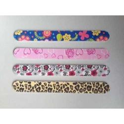 lima de uñas variadas envuelta en su bolsita de celofan (precio por unidad)