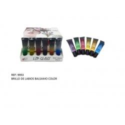 Brillo de labios en bálsamo de colores surtidos