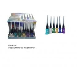 Eyeliner waterproof en colores