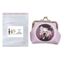 Monedero mujer con bolsa y tarjeta