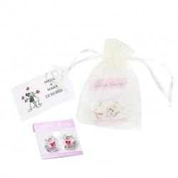 Pendientes en bolsa regalos boda
