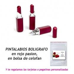 Bolígrafo Pintalabios,  regalo de Boda en Outlet