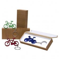 Estuche llavero bici regalo boda
