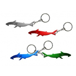 llavero destapador tiburon