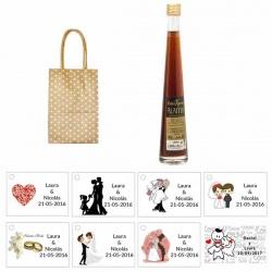 Pack Pedro Ximenez en bolsa para regalos de boda
