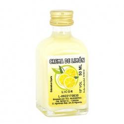 Licor para boda crema de limón 50ml