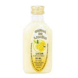 Licor para boda de crema de limón 50ml