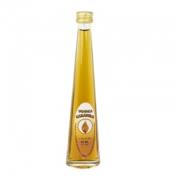Licor para boda de vodka caramelo 40ml