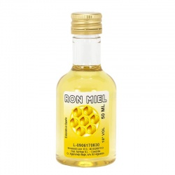 Licor de ron miel 40ml detalles de boda
