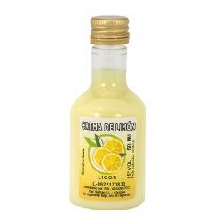 Licor de crema de limón 50ml detalles de boda