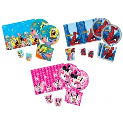 PACK 10 CUBIERTOS BOB-MINNIE-SPID
