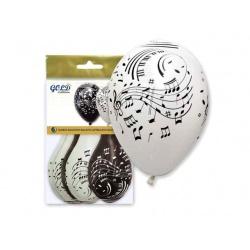 "Bolsa 6 globos música ""IT5"" (29 x 36 cm.)"