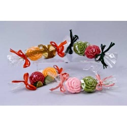 jabon decorado rosas