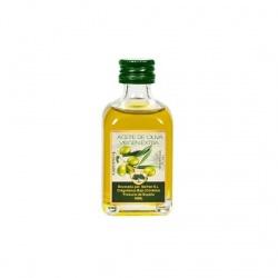 Botellitas de aceite de oliva para bodas