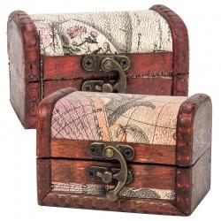 Baúl de madera para licores regalos bodas