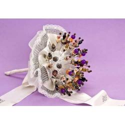 Bouquet volante encaje (no incluye alfileres)