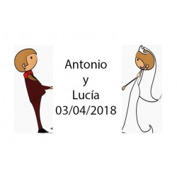 tarjeta para boda baratas