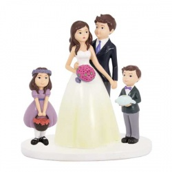 Figura tarta de novios