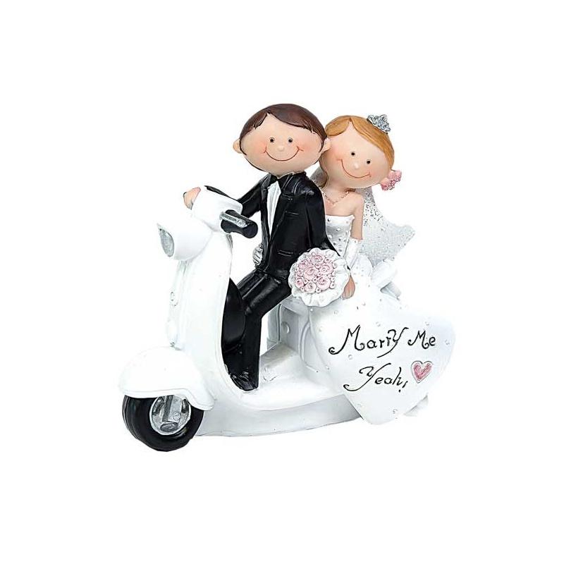 Figura para tarta de boda