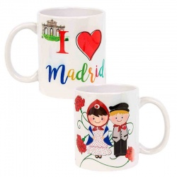 "Taza de souvenir ""Madrid"", no personalizable"