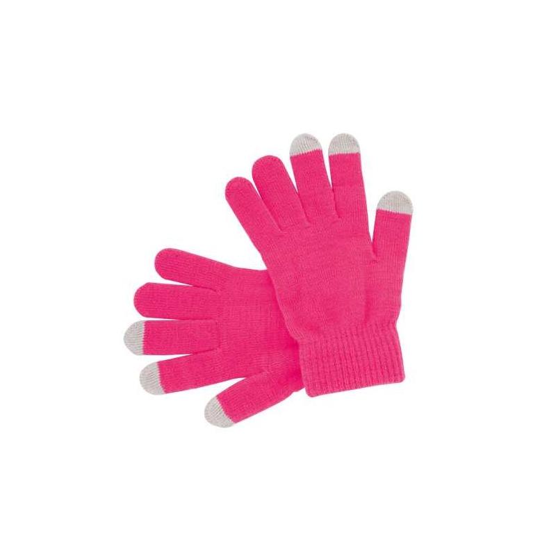 guante rosa para iphone y ipad