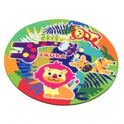 Alfombrilla para ratón personalizable para niña o niño